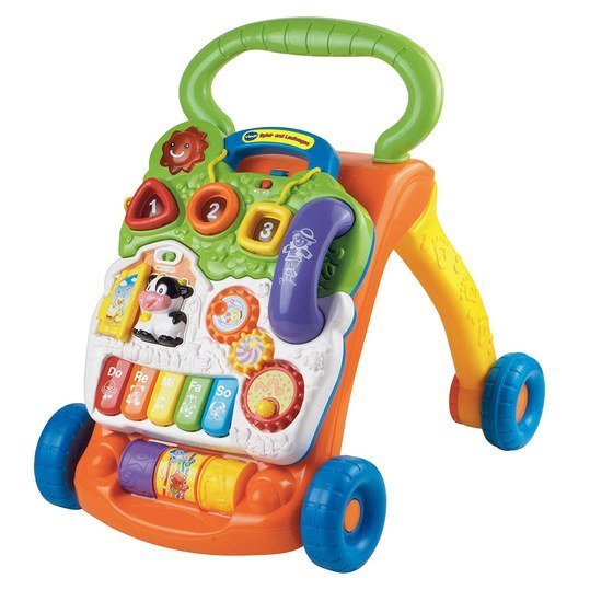 2 in 1 play and running carriage - Orange