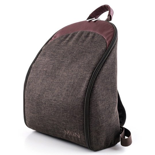 Wickelrucksack Backpack - Dark Brown Melange