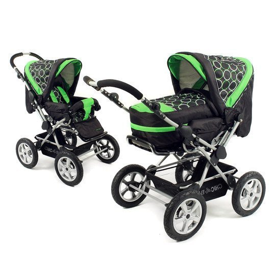 Kombi-Kinderwagen Viva - Orbit Green