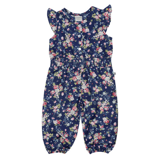 Jumpsuit Summer Styles - Blumen Allover Blau - Gr. 62