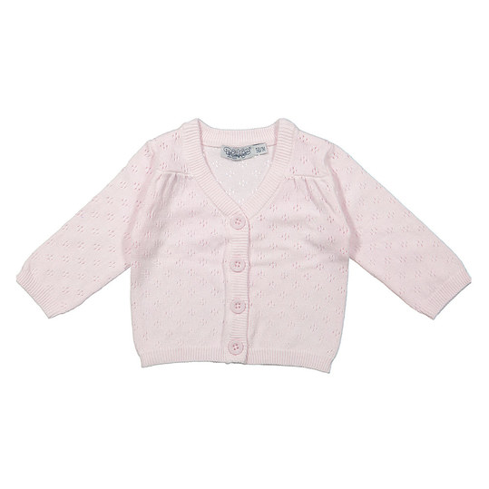 Strickjacke - Rosa - Gr. 62