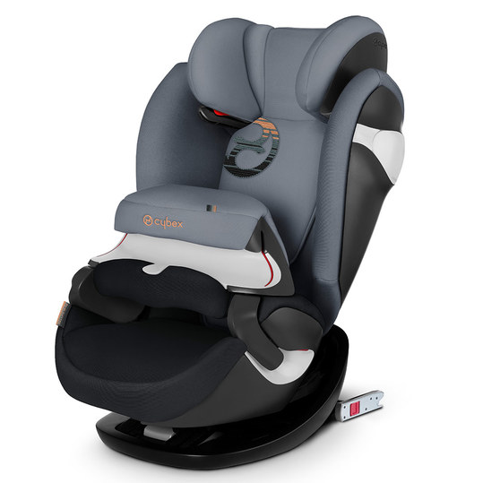 Kindersitz Pallas M-Fix - Pepper Black Dark Grey