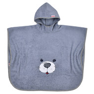 Bath poncho 75 x 60 cm - Seal - Grey Light grey