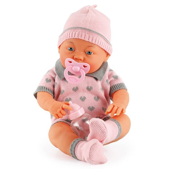 Puppe Baby Bambina 42 cm - mit 30 Funktionen