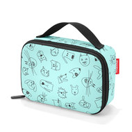 Brotbox Thermocase Kids - Cats & Dogs - Mint