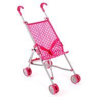 Mini-Puppenbuggy Funny - Pink Dots