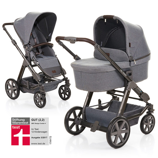 Kombi-Kinderwagen Condor 4 - Mountain