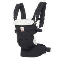 360° Omni baby carrier for 4 carrying positions with lordosis support - Downtwon