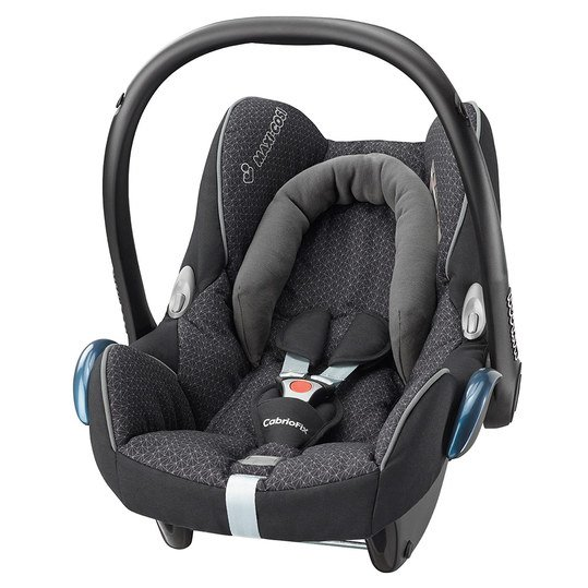 Babyschale CabrioFix - Black Crystal