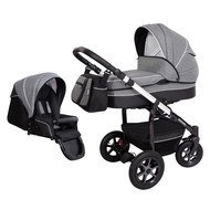 Kombi-Kinderwagen Saturn - Dark Grey