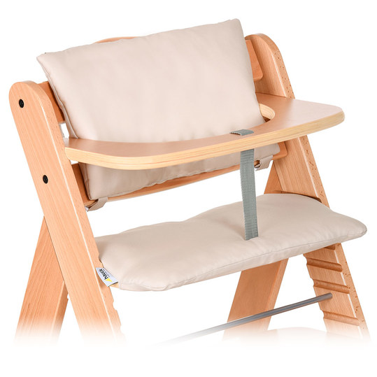 Seat cushion / seat reducer - Deluxe for Alpha high chair - Beige