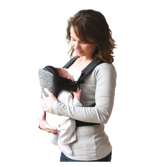 Babytrage 3 in 1 Carrier - Black Grey
