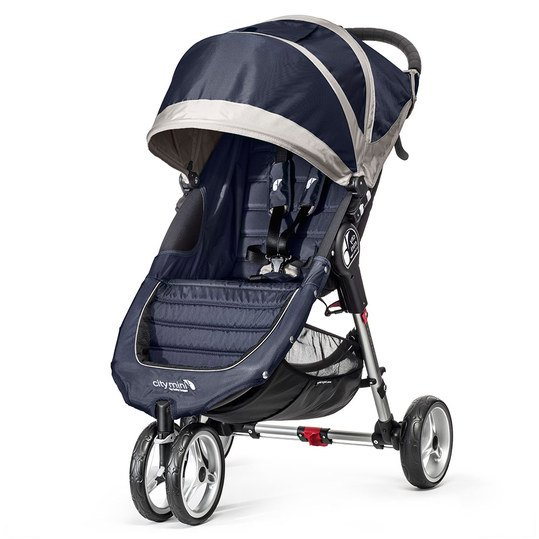 Buggy City Mini 3 Rad - Blue Gray