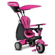 Tricycle Glow 4 in 1 with Touch Steering - Pink