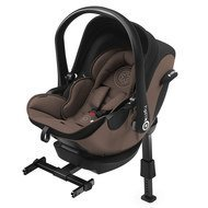 Babyschale Evoluna i-Size inkl. Isofix-Basis - Nougat Brown