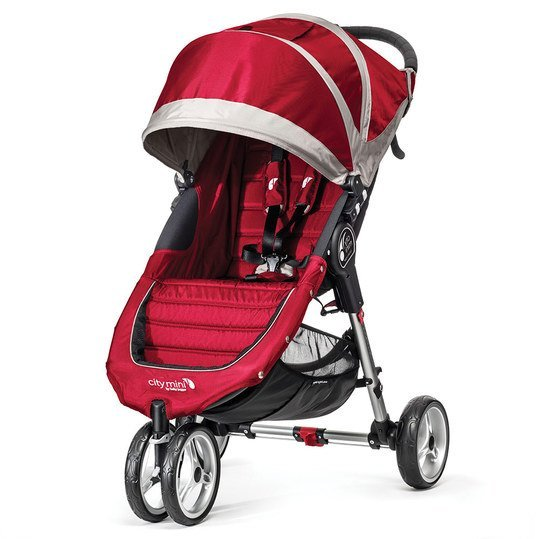 Buggy City Mini 3 Rad - Crimson Gray