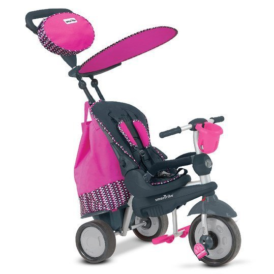 Dreirad Splash 5 in 1 mit Touch Steering - Pink