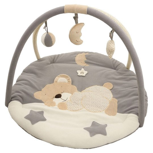 Play blanket with play bow - sleeping bear