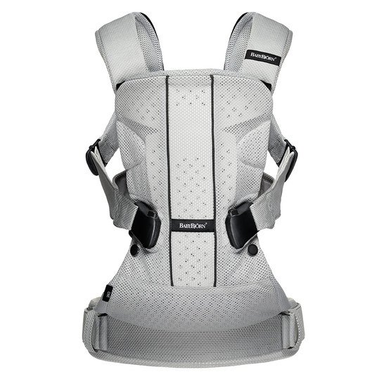 Babytrage One Air Mesh Ergonomic Edition - Silber