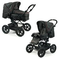Kombi-Kinderwagen Viva - Jeans Black