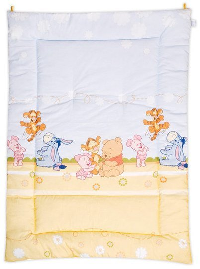 Crawling blanket 95 x 135 cm - Baby Pooh & Friends