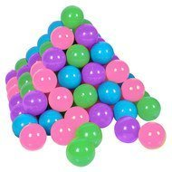 Balls 100er Pack for ball bath - Softcolours