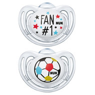 Schnuller 2er Pack Freestyle - Silikon 6-18 M - Fußball-Edition - Fan & Ball