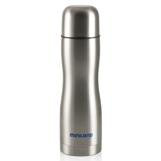 Edelstahl-Isolierflasche Ergonomic Thermo 500 ml - Silber