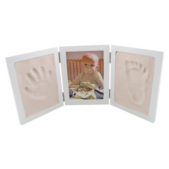 3-fold frame for photo and prints - white