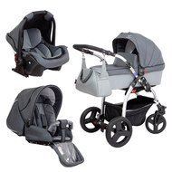 Kinderwagen-Set TriSet - Dark Grey