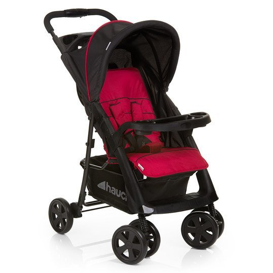Buggy Shopper Comfortfold - Black Red