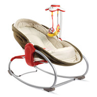 Schaukel-Wippe 3in1 Rocker Napper - Braun