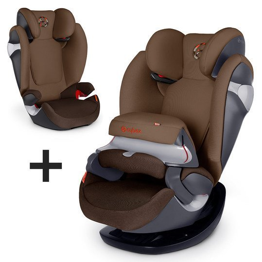 Kindersitz Pallas M - Coffee Bean