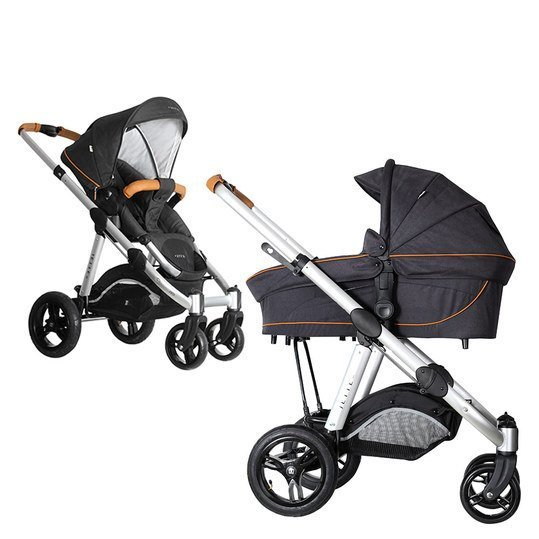 Kombi-Kinderwagen Joel Air - Fishbone Graphite