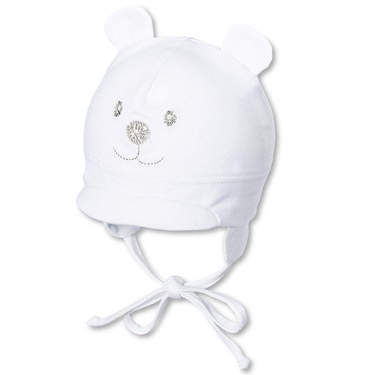First hat bear - white - Gr. 37