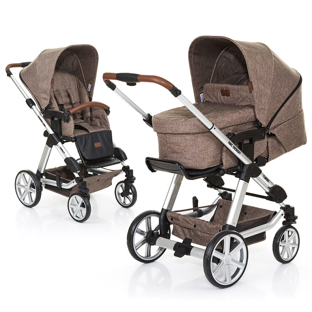 ABC Design Kombi-Kinderwagen Turbo 4 - Bean 61289 706