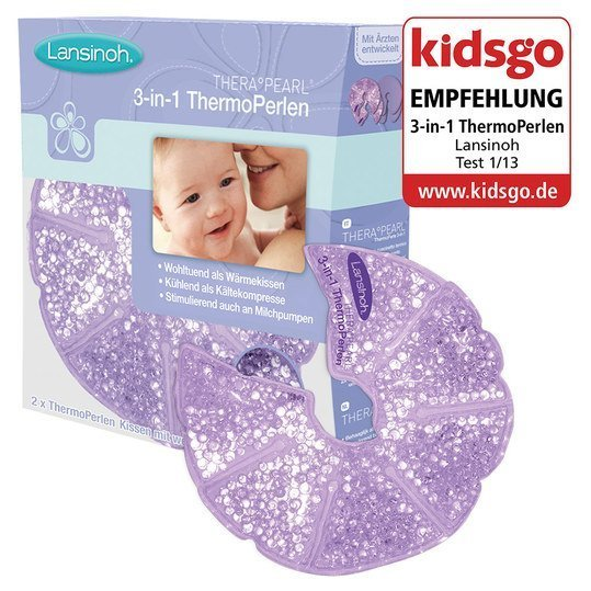 Brustkissen Thera Pearl mit 3 in 1 Thermo-Perlen