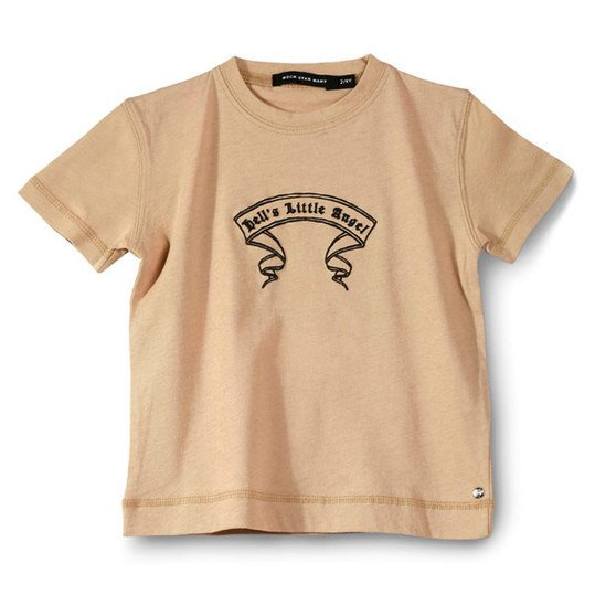 T-Shirt Rock Star - Beige - Gr. S