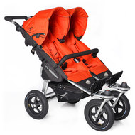 Geschwister- & Zwillingskinderwagen Twin Adventure - Orange.com