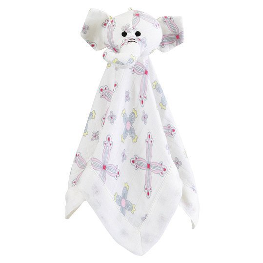 Schmusetuch Bamboo Musy Mate Lovey - Schmusefant Flower Child