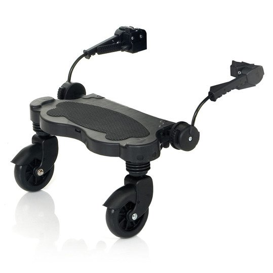 Trittbrett für Kinderwagen / Buggy-Board Kiddie Ride On - Black