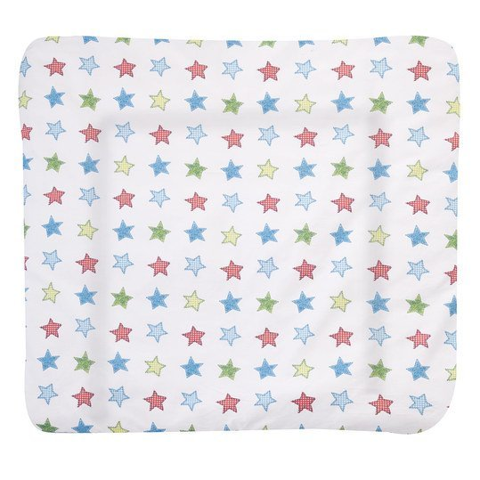 Stoff-Wickelauflage Softy - Colour Stars