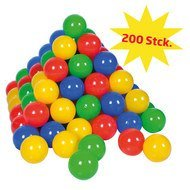 Balls 200er Pack for Ball Bath - Colourful