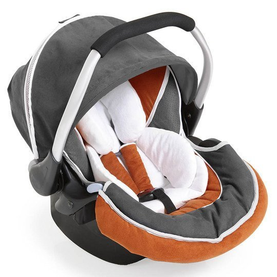 Babyschale Zero Plus Select - Orange Grey