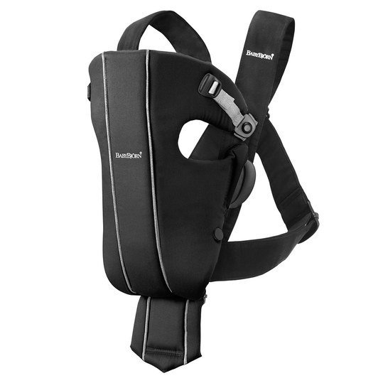 Babytrage Original Cotton - Spirit - Schwarz