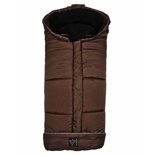 Thermo-Fleece Fußsack Iglu - Braun
