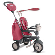 Dreirad Voyage 4 in 1 mit Touch Steering - Red
