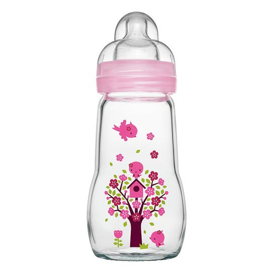 Mam glas flasche feel good 260 ml silikon gr 1 rosa for Mam shoppen