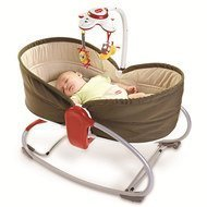Schaukel-Wippe 3 in 1 Rocker Napper - Braun