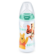 PP-Flasche First Choice Plus 300 ml - Silikon Gr. 2 M - Disney Winnie Pooh - Minze